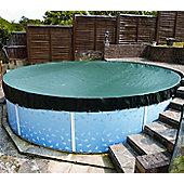 Deluxe Winter Debris Cover For Splasher & Steel Pools- 8ft x 12ft Oval