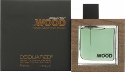 DSquared2 Rocky Mountain Wood Eau de Toilette (EDT) 50ml Spray For Men