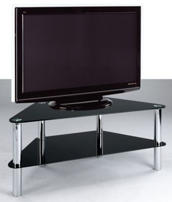 Home Zone Occasional TV Stand - Black