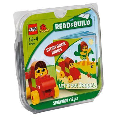 LEGO Duplo Read & Build Let's Go! Vroom! 6760