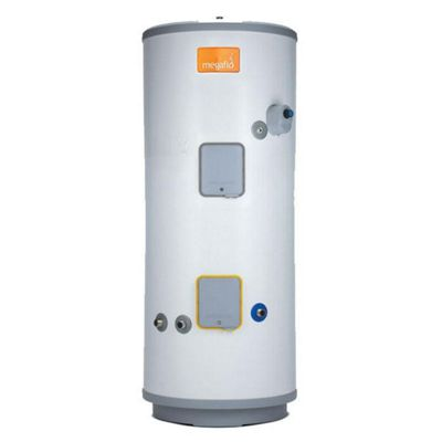 Heatrae Sadia Megaflo Eco 210SDD Unvented Direct Stainless Steel Solar Hot Water Cylinder 210 Litres