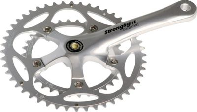 Stronglight Impact Compact Chainset: 34/50T x 175mm.