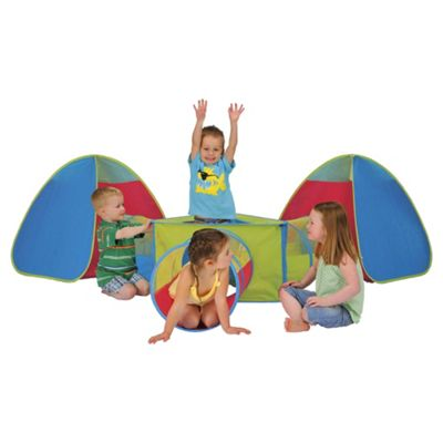 Tesco 6-in-1 Pop-Up Play Tent & Tunnel Set