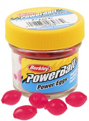 Berkley Powerbait Sparkle Dough Eggs Floating Magnum-Pink Twin Pack