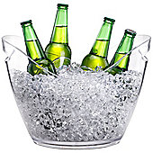 VonShef Large 7.5L Clear Ice Bucket