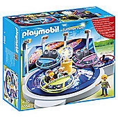 Playmobil 5554 Summer Fun Funfair Spinning Spaceship Ride with Lights