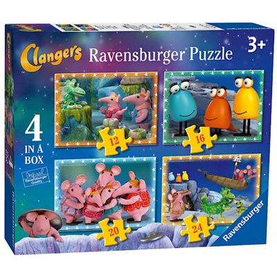 Ravensburger Clangers 4 in a Box Puzzle