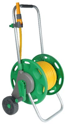 Hozelock 60m hose cart, with 30m multi purpose hose and Fittings