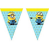 Minions Party Flag Banner (2.3m)