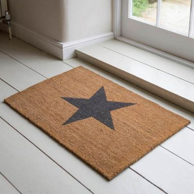 Large Star Doormat