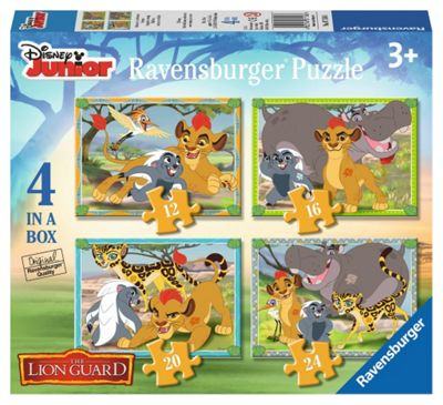 Disney - The Lion Guard - 4 in 1 Puzzle