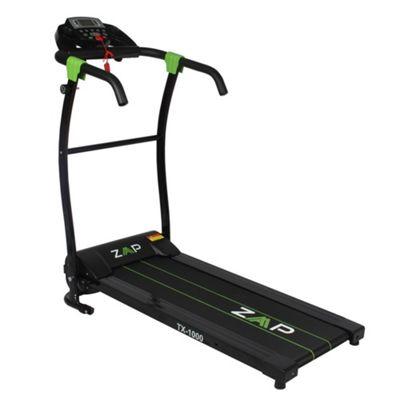 Zaap Tx1000 750W Power Pro Folding Motorised Electric Treadmill Running Machine