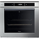 Whirlpool AKZM694IXL 600mm Built-in Single Electric Oven, Stainless Steel