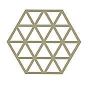 Zone Olive Triangles Trivet