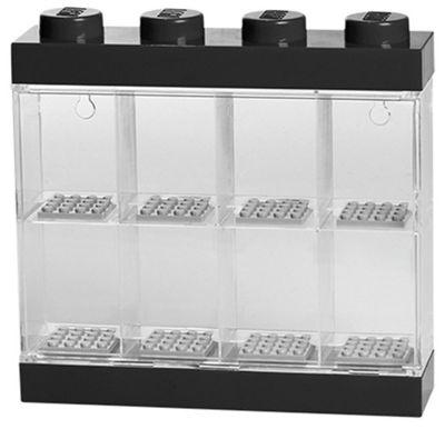 Lego Small Minifigure Display Case - Black Top