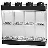 Lego Small Minifigure Display Case - Black Top