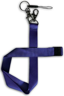 U-bop Neck Strap Lanyard, Regency Blue