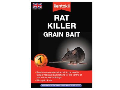 Rentokil Rat Killer Grain Bait Pack of 1 Sachet