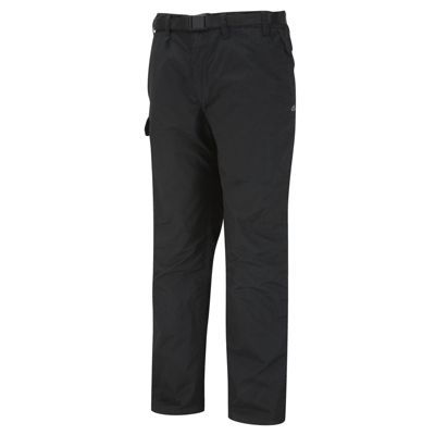 Craghoppers Mens Kiwi Winter Lined Trousers Black Pepper 38 Regular Leg