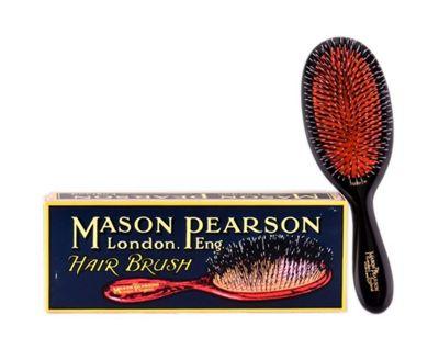 Mason Pearson BN3 Handy Bristle and Nylon Hair Brush - Dark Ruby