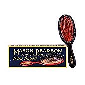 Mason Pearson BN3 Handy Bristle and Nylon Hair Brush - Dark Ruby
