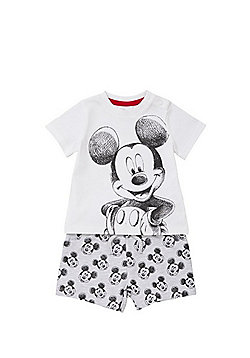 Disney Mickey Mouse Top and Shorts Set - Multi