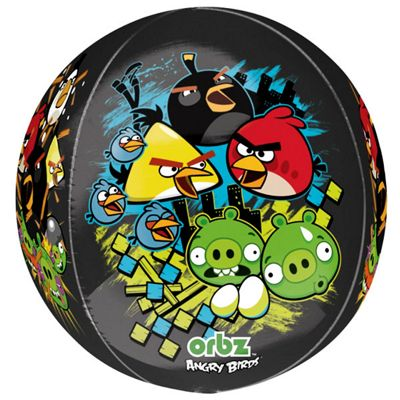 Angry Birds Orbz Balloon - 25 inch Long Lasting