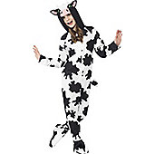 Cow Children's Costume - Black, White & White