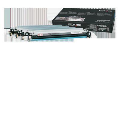 Lexmark C734X24G Photoconductor Unit 4-Pack
