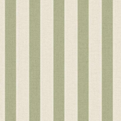 Superfresco Ticking Textured Stripe Stripe Green/Beige Wallpaper