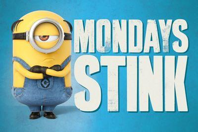 Despicable Me 3 Mondays Stink Poster 61x91.5cm