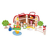 Bigjigs Toys Mini Farm Playset