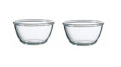 Luminarc Extra Resistant Glass Cocoon Miixing Serving Pudding Bowl 700ml Set of 2