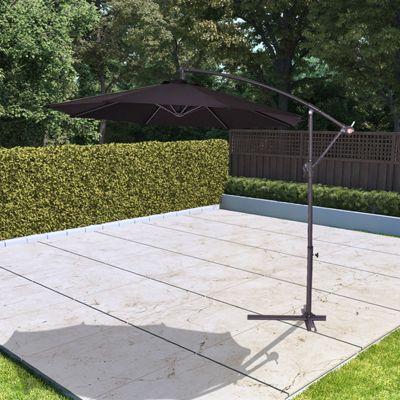 BillyOh 2.7m Garden Parasol Cantilever - Black