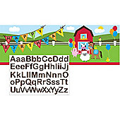 Farmhouse Fun - 1.5m Giant Banner with Stickers