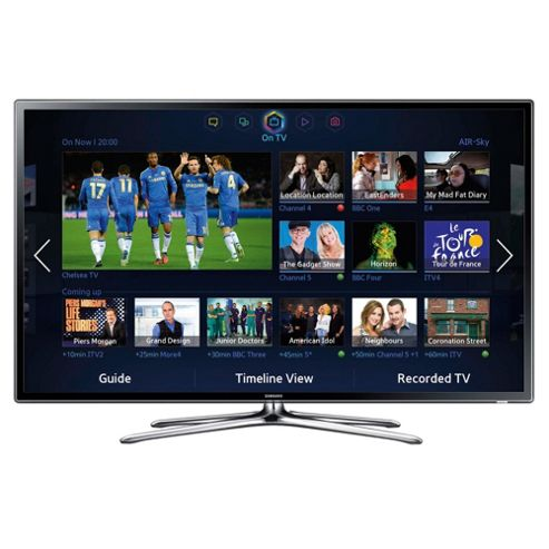 Samsung UE55F6320 55 Inch 3D Smart WiFi Built In Full HD 1080p LED TV With Freeview HD