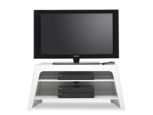 Mor Colorado TV Stand - High Gloss White