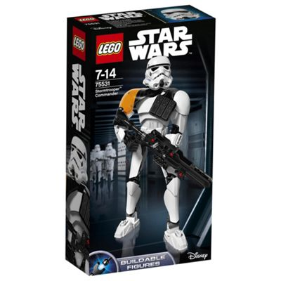 LEGO Star Wars Stormtrooper Commander 75531 Buildable Figure