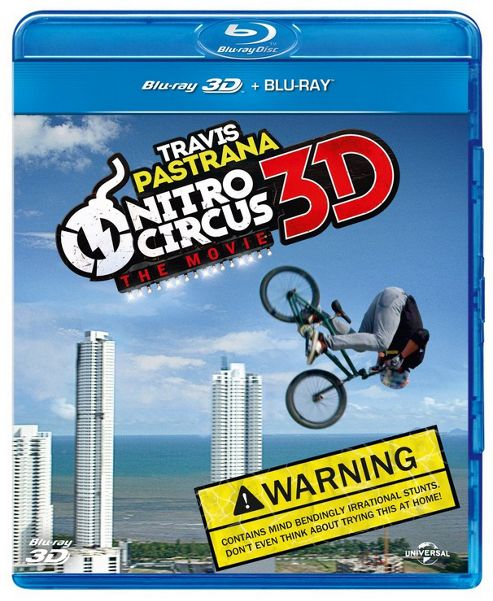 Nitro Circus - The Movie 3D (Blu-Ray 3D + Blu-Ray)