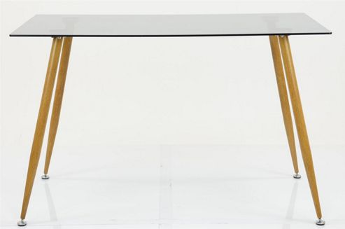 Gothenburg Table and 4x Grey Halmstad
