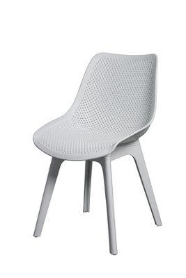 Set of 2 Aurora White Dining Chairs
