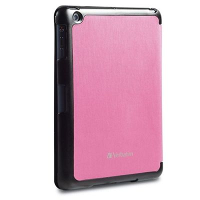 Verbatim 98371 Folio Pink Flex for iPad Mini - Tablet case Apple