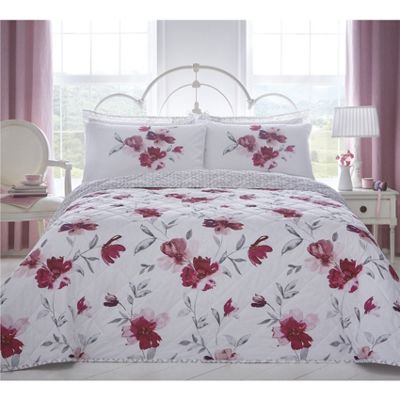 Dreams n Drapes Celestine Blush Bedspread