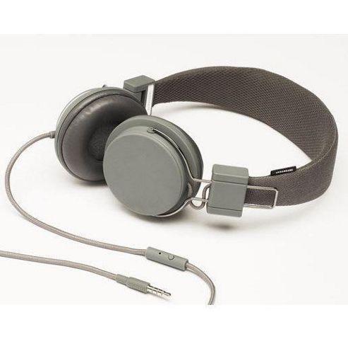 Urbanears Plattan Headphones in Line Microphone - Dark Grey