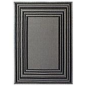 Florence Latina Grey Rug - 160x230cm