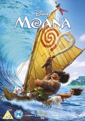 Disney's Moana DVD