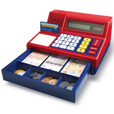 Learning Resources Calculator Cash Register Toy