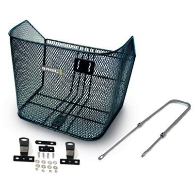 Basil Boston City XLarge Front Mesh Basket & Adjustable 26
