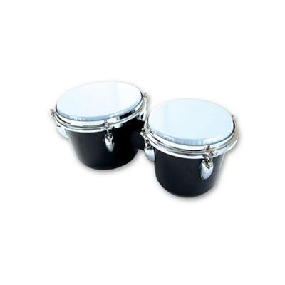 Percussion Plus PP940 ABS Bongos in Black