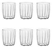 Bormioli Rocco Incontri Water Drinking Tumbler glasses 300ml - Pack of 6